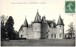 61 Environs De Putanges - CREVECOEUR - Le Chateau - Sonstige Gemeinden