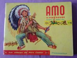 Livre Albums Du Pere Castor - AMO Le Peau Rouge  Flammarion 1956 - APOUTSIAK  Flammarion 1955 - - Unclassified