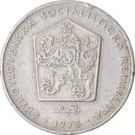 Monnaie, Tchécoslovaquie, 2 Koruny, 1973, TB+, Copper-nickel, KM:75 - Czechoslovakia