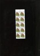 Belgie Andre Buzin Birds 3135 0.41€ Foutdruk Verschoven Tanding In Velletje Van 10 ZM RRR - 1985-.. Birds (Buzin)