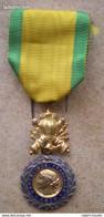 Médaille Militaire + Ruban , Militaria , VALEUR ET DISCIPLINE ,1870, République Française - France