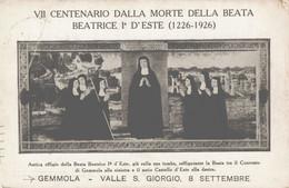 Padova Baone 7 Centenario Beata Beatrice D'Este Gemmola Valle San Giorgio FP P/662 - Padova (Padua)