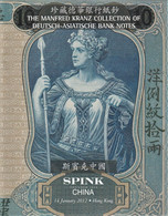 DEUTSCH-ASIATISCHE BANKNOTES, The Manfred Kranz Collection, Auction Catalogue, German-Asiatic Bank, CHINA - Libros & Software
