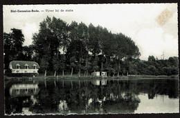 Sint-Genesius-Rode - Vijver Bij De Statie - Uitg. Huis Machiels - Cappittel - 2 Scans - Rhode-St-Genèse - St-Genesius-Rode