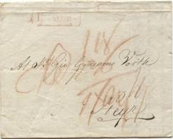 Österreich Brief Mit Inhalt Von Neapel Nach Steyr 7.12.1810 - Österreich
