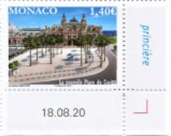 MONACO 2020 - LA NOUVELLE PLACE DU CASINO DE MONTE-CARLO  - NEUF ** - Ongebruikt