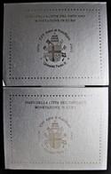 Lot De 2 Coffrets Vatican 2003 Qualité BU  Contenant Les 8 Pièces De 1 Centime à 2 Euros à L'effigie De Jean Paul II - Vaticano (Ciudad Del)