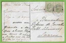 História Postal Filatelia Vigo Navio Paquete Astúrias Carimbo Paquebot Philately Southampton England España Suisse - Postal Services
