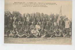 GUERRE 1914-18 - LA TREMBLADE - 1917 - Séjour De La 4ème Compagnie Du 13ème Bataillon Des TIRAILLEURS MALGACHES - War 1914-18