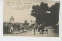 GUERRE 1914-18 - LA TREMBLADE - Les TIRAILLEURS MALGACHES à LA TREMBLADE En 1917 - Au Village Du Petit Pont - War 1914-18