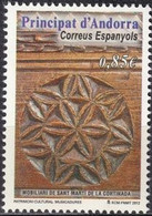 Andorra (Spanish Post) 2012, Cultural Heritage, MNH Single Stamp - Ongebruikt