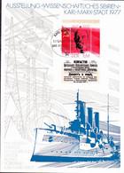"""DDR GDR RDA - Erinnerungsblatt """"Wissenschaftliches Sibirien"""" (MiNr: BLock 50) - 1977 - Covers & Documents"""