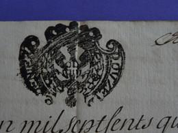 1741 Généralité De SARDES Papier Timbré De DOUZE DENIERS - Seals Of Generality