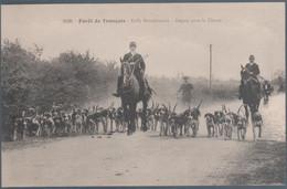 Forêt De Tronçais , Rally Bourbonnais , Départ De La Chasse , Animée - Ohne Zuordnung