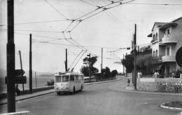 Toulon Le Mourillon Trolleybus Trolley Bus Autocar - Toulon