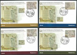 2013 ITALIA CARTOLINA POSTALE FDC CONFINI SAN MARINO - BF - Stamped Stationery