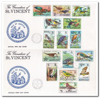 St. Vincent 1974, FDC, Birds - St.Vincent Y Las Granadinas
