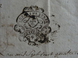 1780 Généralité De LORRAINE ET BAR (Barrois) Papier Timbré De UN SOL 10 DEN. Val D'Ajol (Vosges) - Gebührenstempel, Impoststempel
