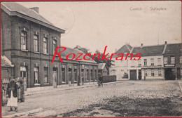 Kontich Contich Statieplein Geanimeerd (In Zeer Goede Staat) - Kontich