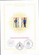 """DDR GDR RDA - 2 Gedenkblatt """"DDR Auf Der STOCKHOLMIA"""" (MiNr: 2997/3000 I) 1986 - Covers & Documents"""
