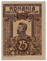ROMANIA , 25 BANI 1917 , UNC P-70 - Romania