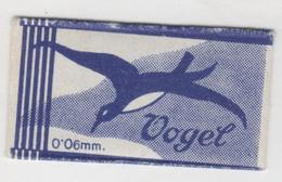 VOGEL  RAZOR  BLADE - Razor Blades