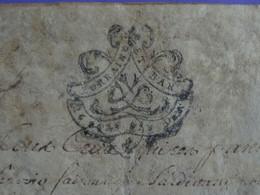 1768 Généralité De LORRAINE ET BAR (Barrois) Parchemin Timbré De 15 SOLS SIX DEN. - Gebührenstempel, Impoststempel
