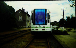 TRAMWAY - SAINT JEAN DE BRAYE  Gare  (Loiret)   - 1994 Présentation Du  Futur Tramway De Nantes - Tram