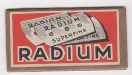 RADIUM  RAZOR BLADE - Razor Blades