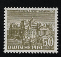 1949 Berliner Bauten Mi DE-BE 53 Sn DE 9N53 Yt DE-BE 39 Sg DE-BE B46 Postfr. Xx MNH - Ungebraucht