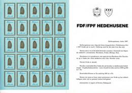 Denmark; Scouting;  Local Christmas Seals - Hedehusene.  5 Full Sheets 1987-1989 & 1991-1992 MNH(**). - Sonstige