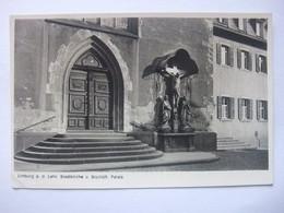 Q59 Limburg An Der Lahn - Stadtkirche U. Bischöfl. Palais - Limburg