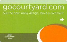 Courtyard Mariott Hotel Room Key Card - Hotelkarten