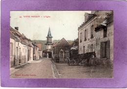 60  VIEUX MOULIN L'Eglise  Carte Colorisée - Otros Municipios