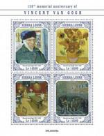 SIERRA LEONE 2020 - V. Van Gogh: Billiard. Official Issue [SRL200508a] - Games