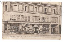 91 - CORBEIL (S. Et O.) - Place Du Marché - Grand Bazar Universel. Maison De Confiance. Prix Modérées. - Corbeil Essonnes