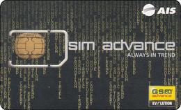 Thailand Phonecard GSM Simcard Sim Advance  Mint - Zonder Classificatie