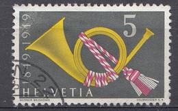 Suisse  1949   Mi.Nr:  519  Posthoorn   Oblitèré / Used / Gebruikt - Usados