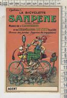 La Bicyclette SANPENE - Riproduzione Da Originale Cartolina Pubblicitaria - Publicidad