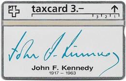 Switzerland - Swisscom (L&G) - K Series - K-93/9G - John F. Kennedy 1917-1963 - 305L - 05.1993, 3Fr, 2.500ex, Mint - Schweiz
