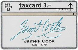 Switzerland - Swisscom (L&G) - K Series - K-93/9H - James Cook 1728-1779 - 306L - 06.1993, 3Fr, 2.500ex, Mint - Schweiz