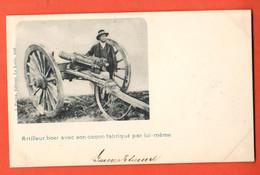 ZCD-39  South African War, Also Called  Boer War. Boer Gunner With Self-made Barrel.Artilleur. Used In Switzerland 1900 - Otras Guerras