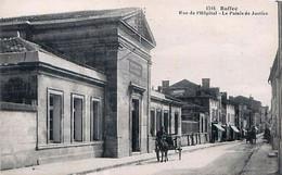 Cpa RUFFEC 16 Rue De L' Hôpital - Le Palais De Justice - Ruffec
