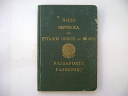 BRAZIL / BRASIL - PASSPORT ISSUED IN 1950 IN THE STATE - Documentos Históricos