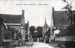 3556  Carte Postale FOSSEUX  Rue De L' Eglise            62 Pas De Calais - Autres Communes