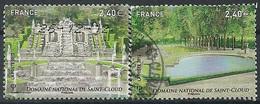 FRANCIA 2012 - YV 4663/64 - Cachet Rond - Gebruikt