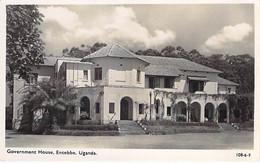 OUGANDA Uganda - ENTEBBE : Government House - CPSM Photo Format CPA - Black Africa Afrique Noire - Oeganda