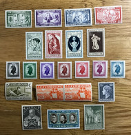 LUXEMBOURG - Lot De Timbres MNH NEUF POSTFRISCH Avec 3 Séries Complètes - 1940-1944 Duitse Bezetting