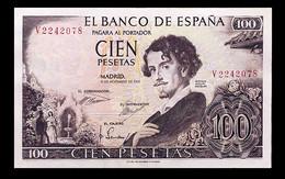 # # # Banknote Spanien (Spain) 100 Pesetas 1965 AUNC # # # - [ 3] 1936-1975: Regime Van Franco