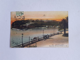 CPA 117. Monte Carlo, Monaco, Vue Sur Les Terrasses Et Monaco, 1907 - Terrassen